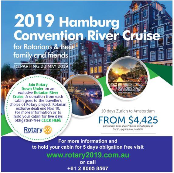 2019 Hamburg Rotary Convention River Cruise