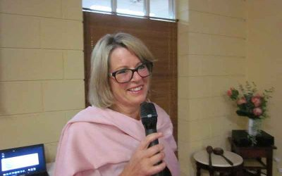 Rotarian Diana Butler, CEO of the Care for Africa Foundation