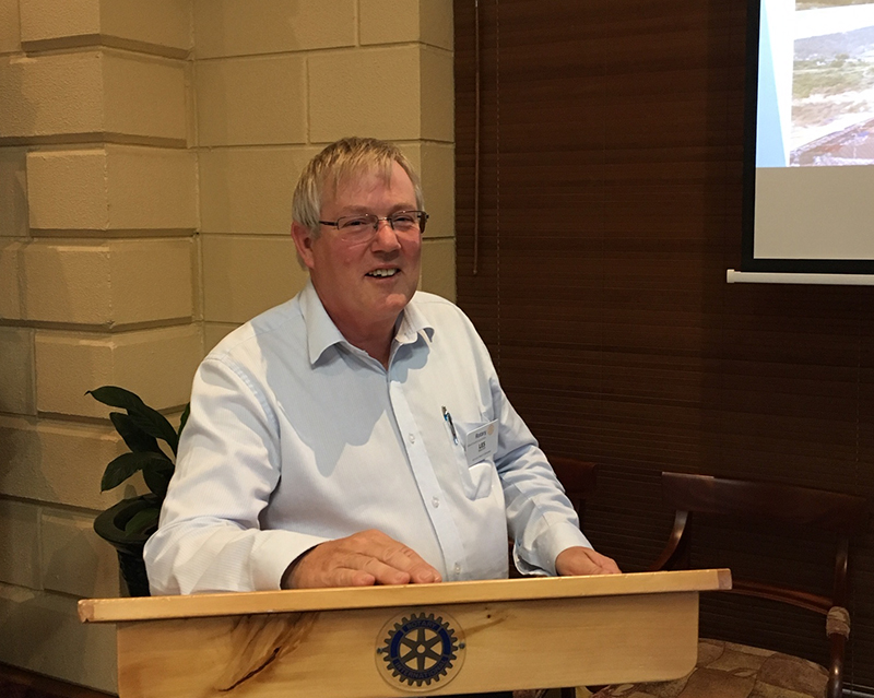 Rotarian Les Baxter – his time in Bhutan