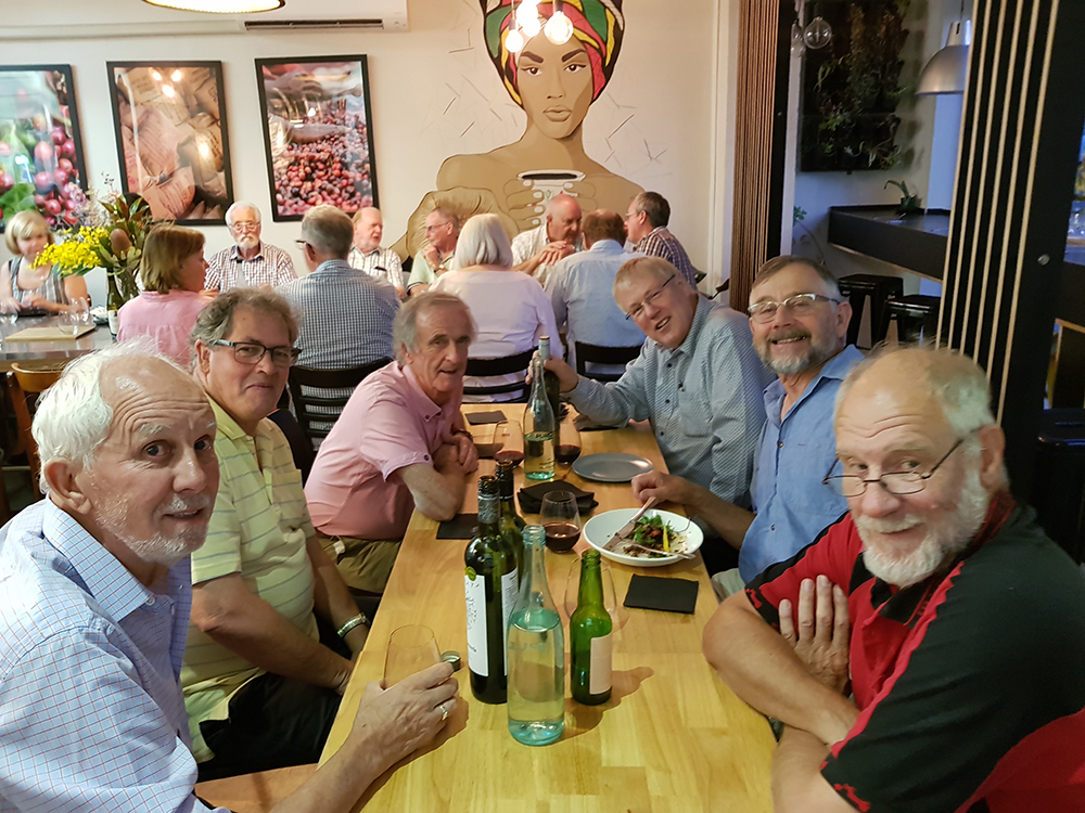 Our club enjoyed a wonderful social evening at Sweetbrew last Thursday evening