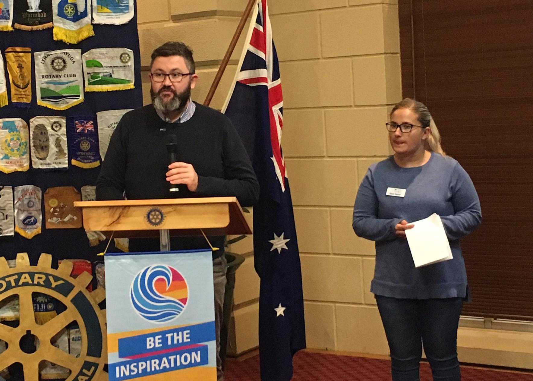 RYLA – Rotary Youth Leadership Awards.