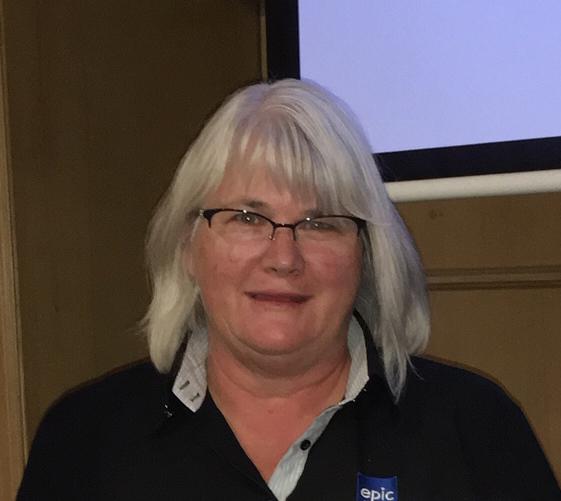 The Rotarian Behind the Badge. Gaylene Baker.