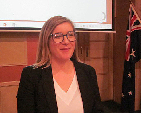 Rotarian behind the Badge – Hayley Bartels