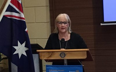 Sue Richardson from Japara Aged Care  Homes