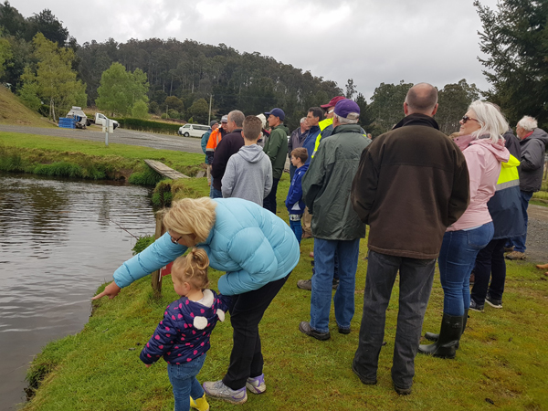 Our club had a great social day on Saturday at Mountain Stream Fisheries.